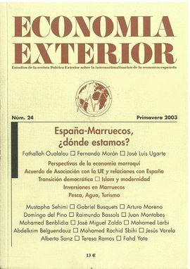 ECONOMIA EXTERIOR. Nº 24; PRIMAVERA 2003