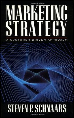 MARKETING STRATEGY: A CUSTOMER-DRIVEN APPROACH