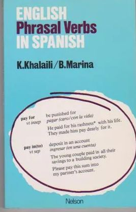 ENGLISH PHRASAL VERBS IN SPANISH