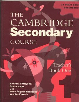CAMBRIDGE SECONDARY COURSE 1 TEACHER'S BOOK SPANISH EDITION