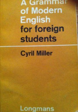 GRAMMAR OF MODERN ENGLISH FOR FOREIGN STUDENTS