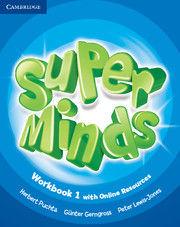 SUPER MINDS LEVEL 1 WORKBOOK WITH ONLINE RESOURCES