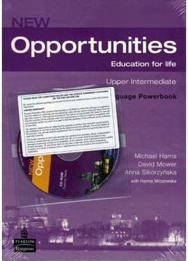 * NEW OPPORTUNITIES UPPER-INT. POWERBOOK + CD