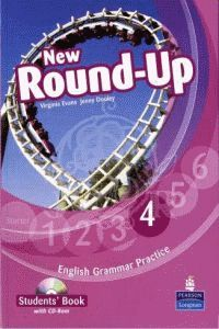 NEW ROUND UP 4 STUDENT'S BOOK + AUDIO CD
