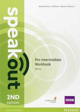 SPEAKOUT PRE INTERMEDIATE WORKBOOK WITH KEY