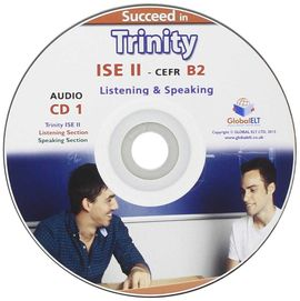 SUCCEED IN TRINITY ISE II-B2 LISTENING AND SPEAKING AUDIO CD