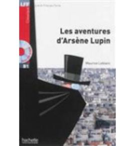 AVENTURE ARSENE LUPIN +CD AU MP3 LFFB1