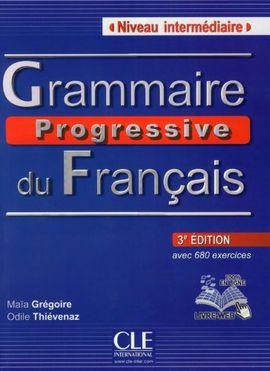 GRAMMAIRE PROGRESSIVE DU FRANÇAIS NIVEAU INTÉRMEDIAIRE (3ª EDICIÓN)