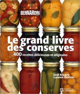 LE GRAND LIVRE DES CONSERVES