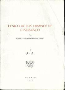 LÉXICO DE LOS HIMNOS DE CALÍMACO 4 VS