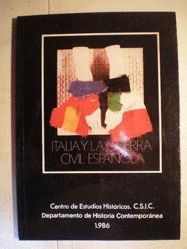 ITALIA Y LA GUERRA CIVIL ESPAÑOLA