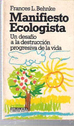 MANIFIESTO ECOLOGISTA