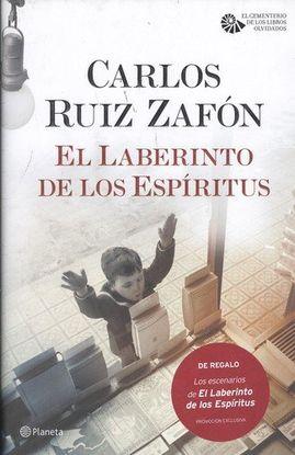 PACK: EL LABERINTO DE LOS ESPÍRITUS + LIBRITO CON LOS PASAJES Y PAISAJES DE LA N
