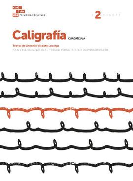 CUADERNO CALIGRAFÍA 2 (CUADRÍCULA)
