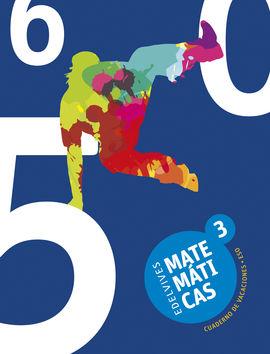 CUADERNO DE VACACIONES MATEMÁTICAS 3.º ESO