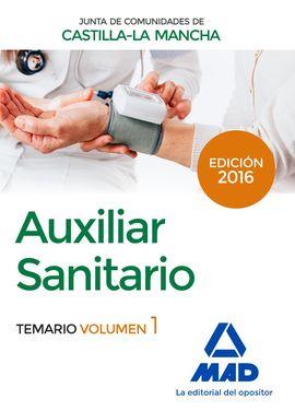 AUXILIAR SANITARIO (PERSONAL LABORAL DE LA JUNTA DE COMUNIDADES DE CASTILLA-LA M