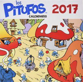 CALENDARIO 2017. LOS PITUFOS
