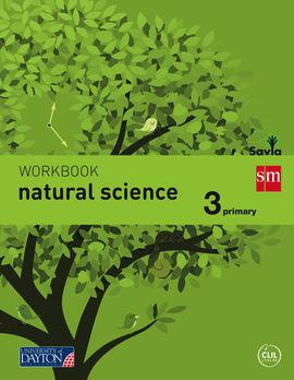 NATURAL SCIENCE. 3 PRIMARY. SAVIA. WORKBOOK