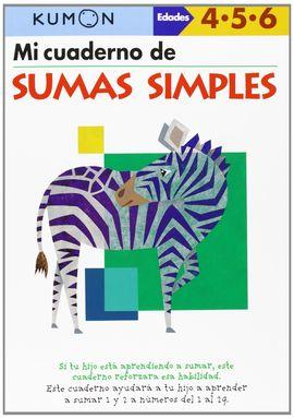 MI CUADERNO DE SUMAS SIMPLES