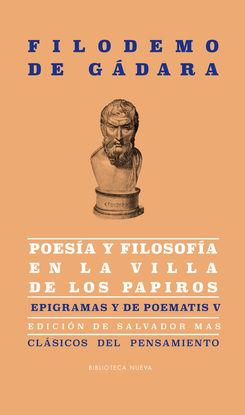 POESÍA Y FILOSOFÍA EN LA VILLA DE LOS PAPIROS