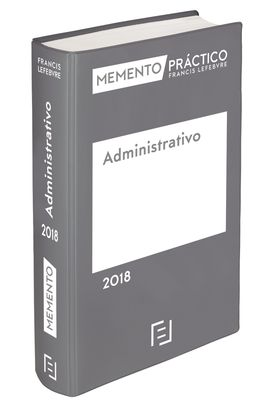 MEMENTO ADMINISTRATIVO 2018