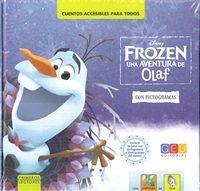 FROZEN UNA AVENTURA DE OLAF CON PICTOGRAMAS