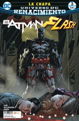 BATMAN/ FLASH: LA CHAPA NÚM. 03 (DE 4) (RENACIMIENTO)