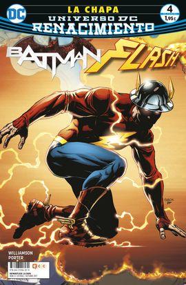 BATMAN/ FLASH: LA CHAPA NÚM. 04 (DE 4) (RENACIMIENTO)