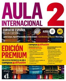 AULA INTERNACIONAL 2 EDICIÓN PREMIUM