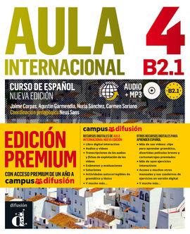 AULA INTERNACIONAL 4 EDICIÓN PREMIUM