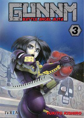GUNNM BATTLE ANGEL ALITA 03