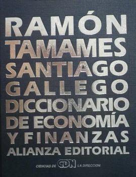 DICCIONARIO DE ECONOMÍA