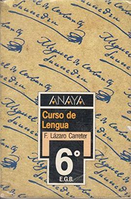 CURSO DE LENGUA 6
