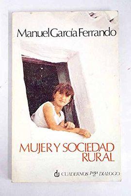 MUJER Y SOCIEDAD RURAL