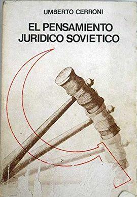 EL PENSAMIENTO JURÍDICO SOVIÉTICO