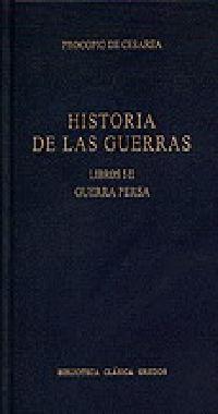 HISTORIA GUERRAS LIBROS I-II GUERRA PERS