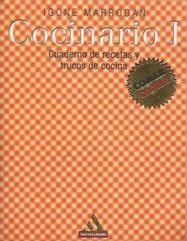 COCINARIO I. CUADERNO DE RECETAS Y TRUCOS DE COCINA