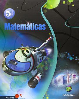 MATEMÁTICAS 5º PRIMARIA (TRES TRIMESTRES) + COMIC