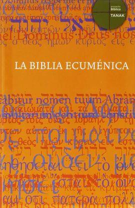 LA BIBLIA ECÚMENICA