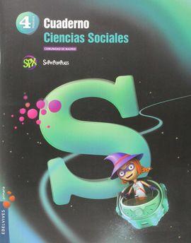 CUADERNO CIENCIAS SOCIALES 4º PRIMARIA- C. DE MADRID