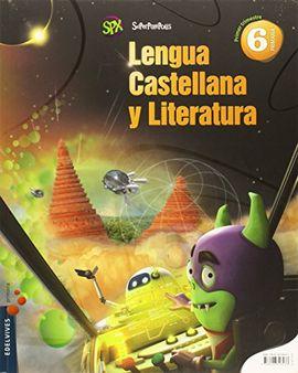 LENGUA CASTELLANA Y LITERATURA 6º PRIMARIA (TRES TRIMESTRES)