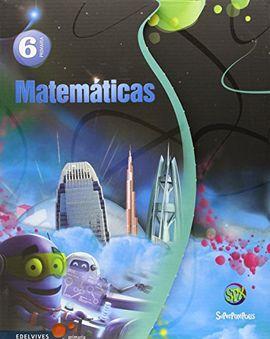 MATEMÁTICAS 6º PRIMARIA (TRES TRIMESTRES)