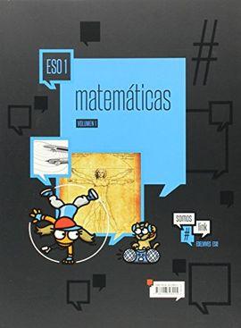 MATEMÁTICAS 1º ESO (TRES VOLÚMENES)