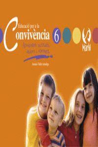 EDUCACIÓ PER A LA CONVIVÈNCIA - 6 VALENCIÀ