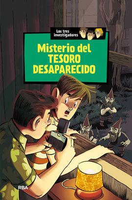 LOS TRES INVESTIGADORES 5: MISTERIO DEL TESORO DESAPARECIDO