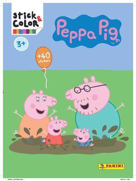 PEPA PIG 2018 (STICK & COLOR 58) 3+
