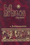LA BIBLIA LATINOAMÉRICA (LETRA GRANDE CARTONÉ COLOR)