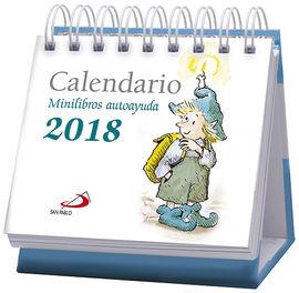 CALENDARIO DE MESA MINILIBROS AUTOAYUDA 2018