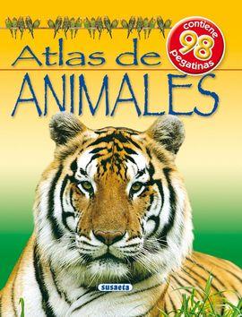 ATLAS DE ANIMALES CON PEGATINAS Nº 1