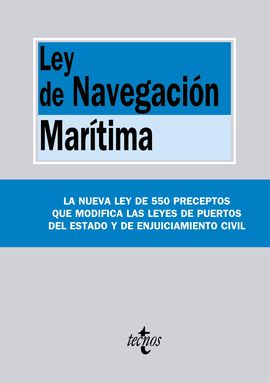 LEY DE LA NAVEGACIÓN MARÍTIMA